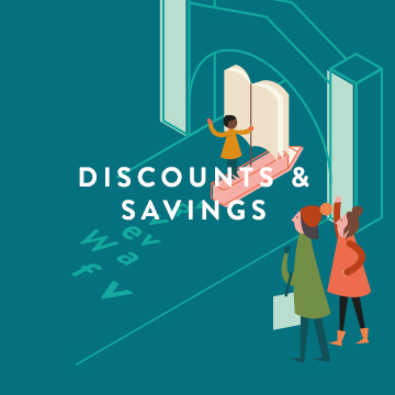 Discounts and Savings